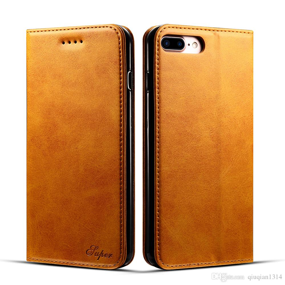 iphone 7 flip case shockproof