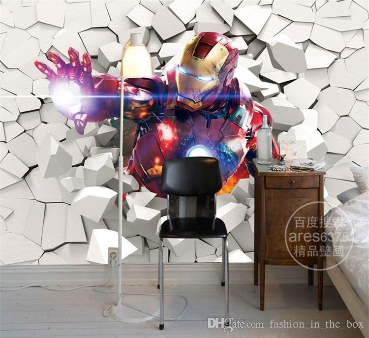 Compre 3D Iron Man Wallpaper Marvel Heroes Foto De Fondo