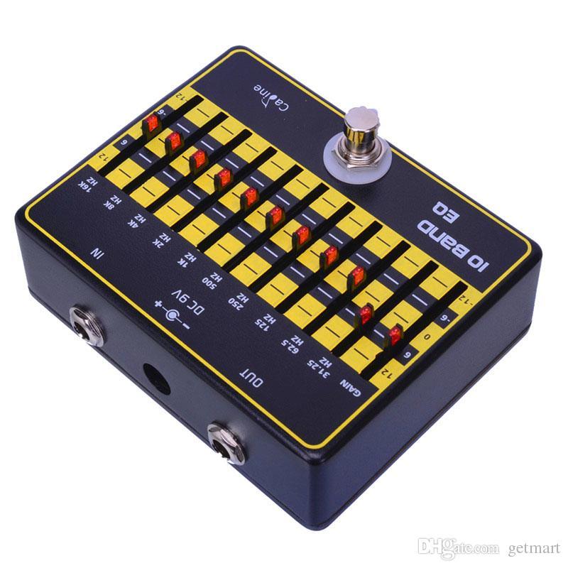 Caline CP-24 10 Band EQ True Bypass Design Guitar Effect Pedal