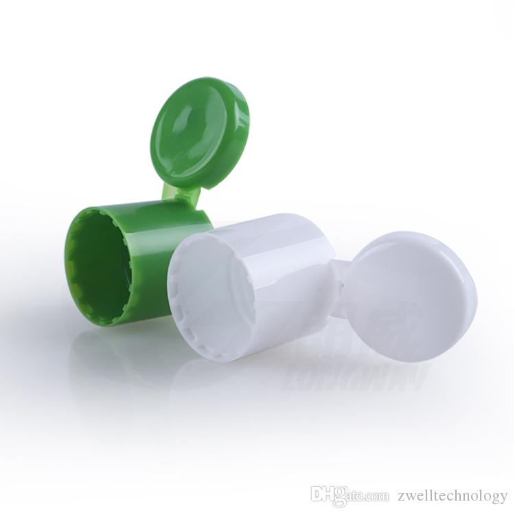 120g white PET Cream Bottle Container Flip Screw Cap Bottle Emulsion bottle for Sample Shampoo