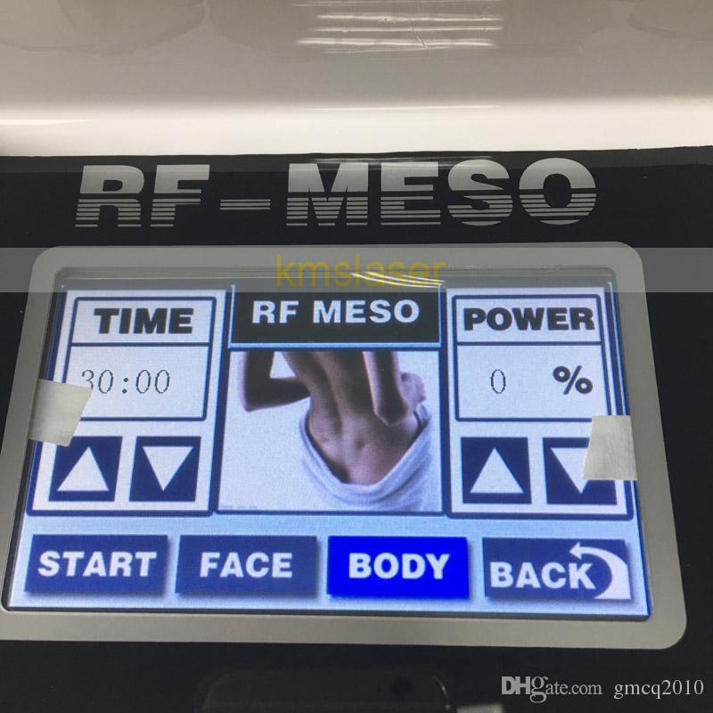 Monopolar RF лицевой подниматься сильное всасывание вакуума радиочастота удаления морщинки машины подмолаживания кожи внимательности красотки лицевой оборудование