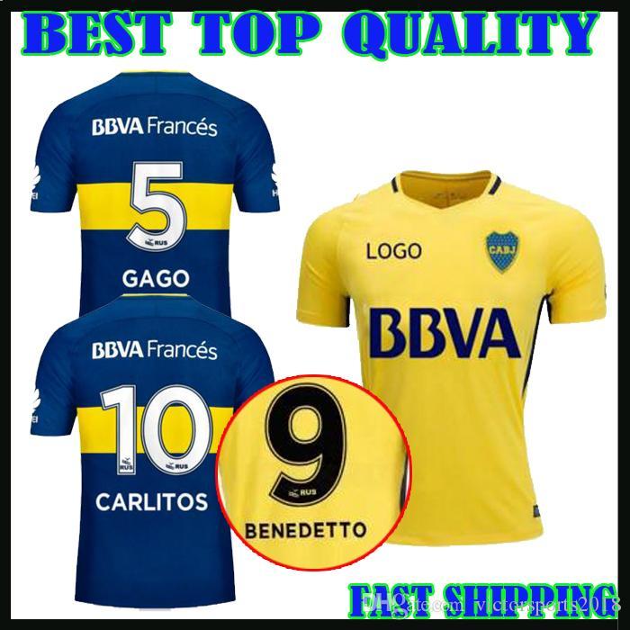 d6eea5a3929 ... 2017 2018 Boca Juniors soccer Jersey Home Away 3RD BENEDETTO 17 18 Boca  Juniors CENTURION GAGO ...