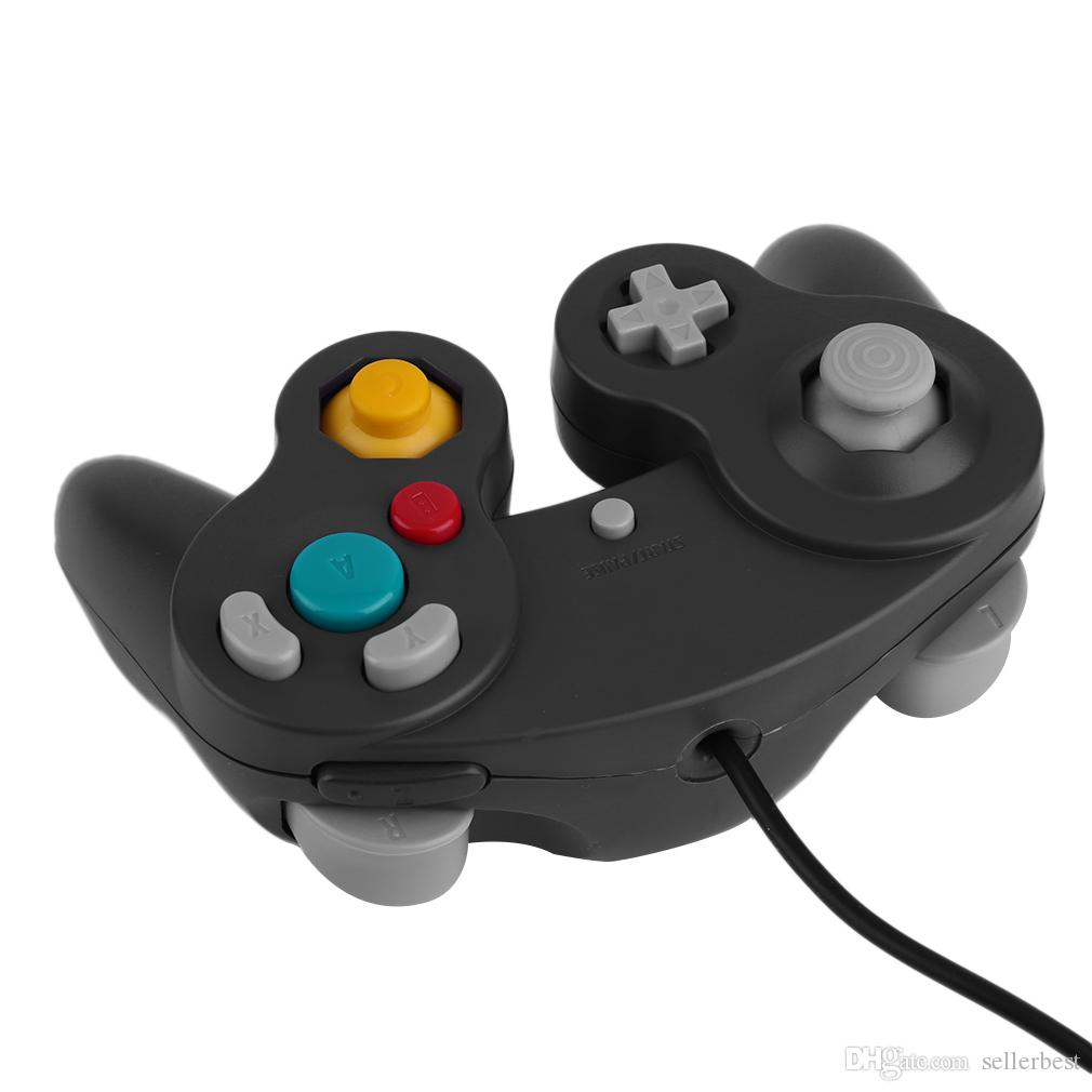 Wired Game Controller Gamepad Joystick NGC NINTENDO GC Game Cube Platinum