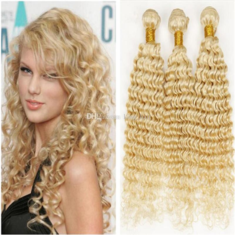 Cheap hot sale russian blonde hair human hair bundles 613 deep cheap hot sale russian blonde hair human hair bundles 613 deep wave hair deep curly hair extensions double weft milky way weave milky way hair weaves from pmusecretfo Gallery
