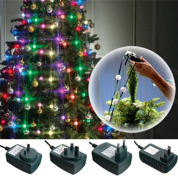 Wholesale Christmas Tree Colorful 64 Led String Light Fiber Optical ...