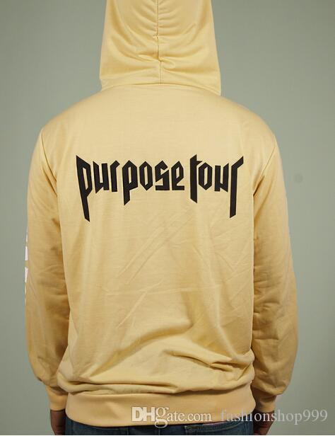 Frühling Sicherheitszweck Tour Print Hoodie Fashion High Street Fleece Herren Wache Sweatershirt Yellow Gypsy Volle Größe S M L XL XXL