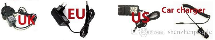 Caricabatteria da parete auto domestico 5V 2A AC all'ingrosso ADATTATORE con cavo da 3,5 mm eBooker di tablet Nextbook