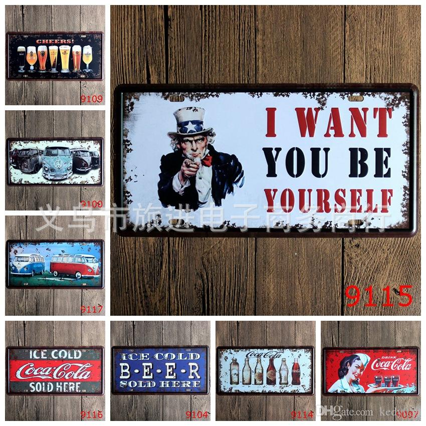 2018 license plates retro metal tin signs ice cold beer vw car bus 2018 license plates retro metal tin signs ice cold beer vw car bus wall decoration plaque vintage iron painting art for pub bar hotel craft gift from solutioingenieria Images