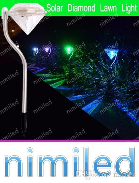 2019 Nimi1057 LED Diamond Light Solar Powered RGB Landscape Lights Outdoor  Garden Patio Lawn Path Villas Lamps Solar Yard Lighting Waterproof From  Nimiled, ... - 2019 Nimi1057 LED Diamond Light Solar Powered RGB Landscape Lights