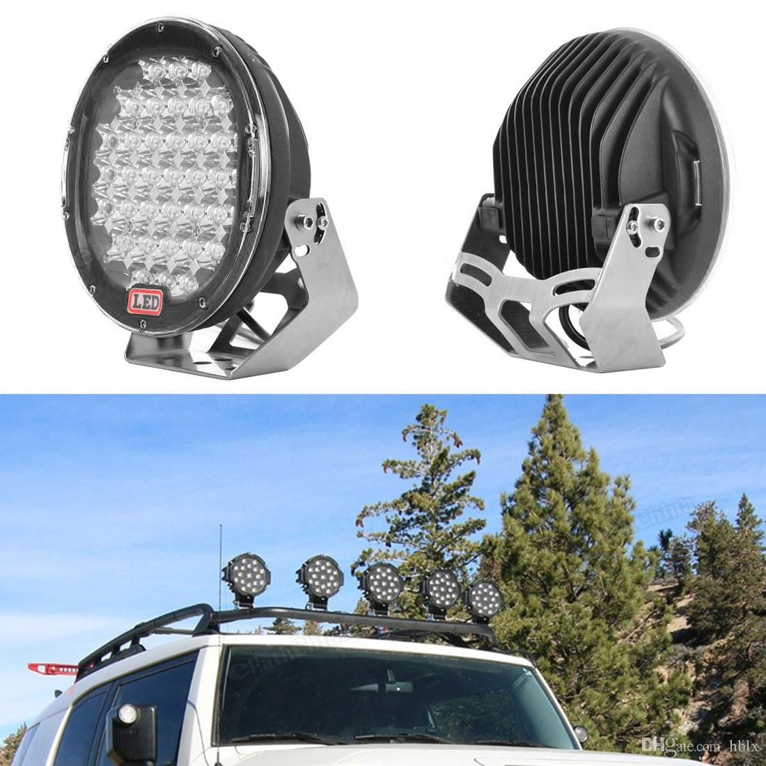 9 Inch 185W 6000K Work Driving Lights Spot / Flood light HID Vehicle Driving Lights for Offroad SUV ATV Truck Boat CLT_43D