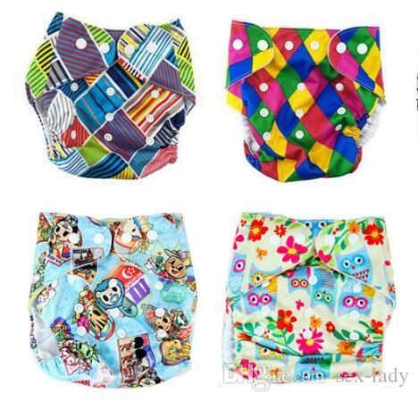 47designs Diaper More Patterns Reusable Diaper Printing Diapers Nappy Cover For Baby Reusable Cloth Nappies Waterproof Diapers