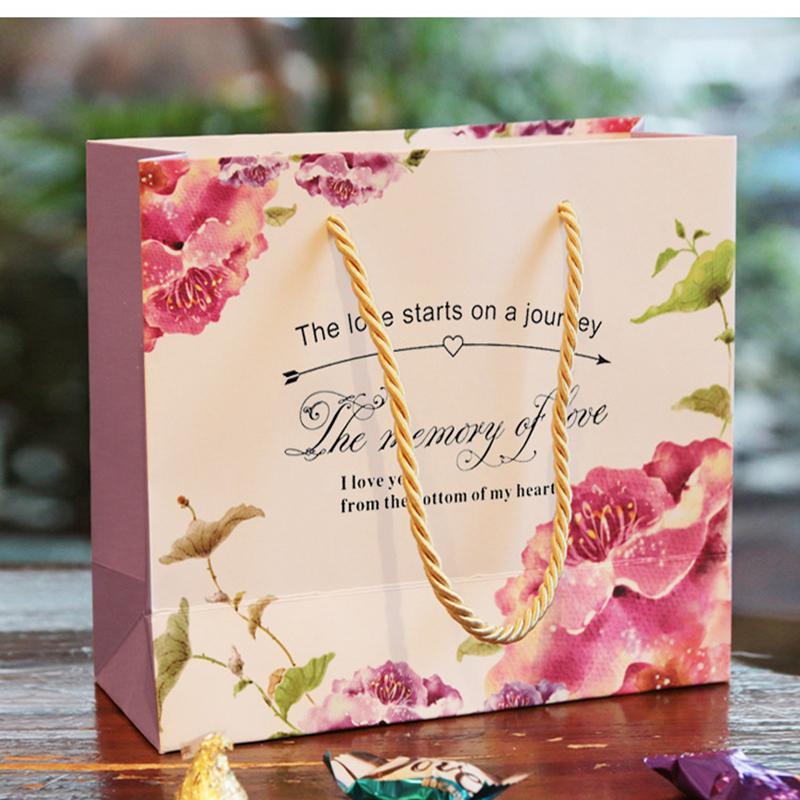 Flower paper bags ukrandiffusion flower paper bags exquisite design candy bag fashion wedding bag wedding supplier mightylinksfo