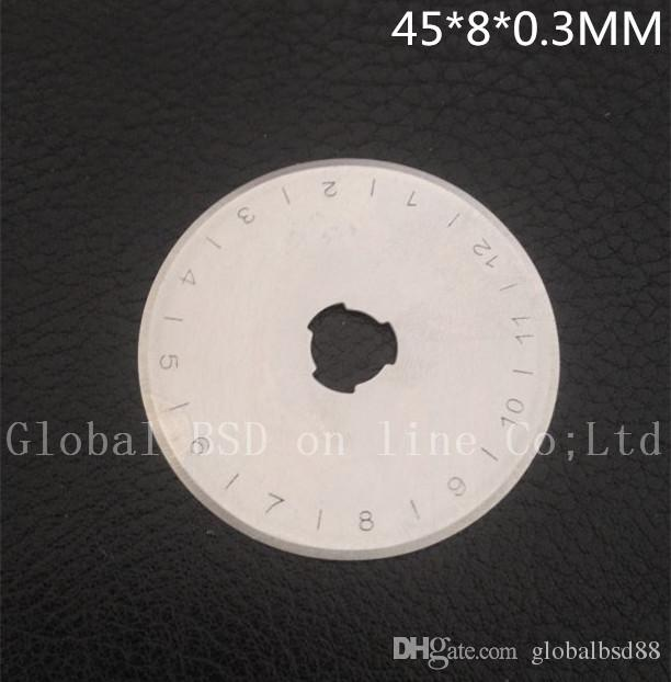 45MM ROTARY CUTTER BLADES fits Olfa, Fiskars, Clover and more High quality very sharp Welcome Wholesale
