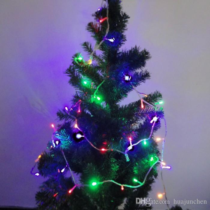 Fashion Light String Christmas Tree Colorful Led Lights The Festival Venue Decoration  Color Lights Decorative Lamp String Easter String Lights Christmas Led ...