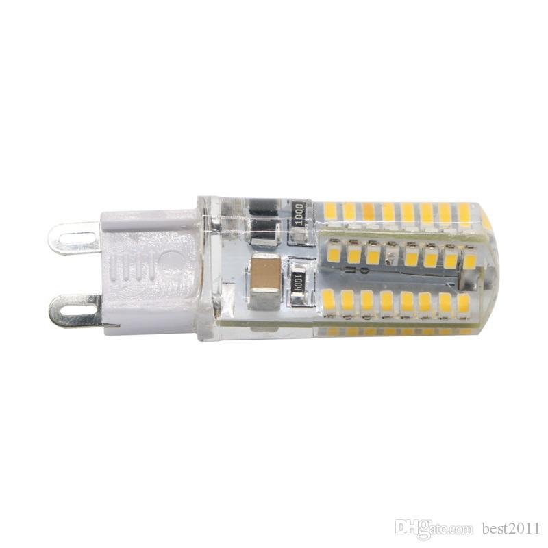 Mini Led Bulb Lamp G9 Led Crystal Chandelier Lights 64Leds AC 110V 220V Home Art Decor Lighting Replace Halogen Lamp