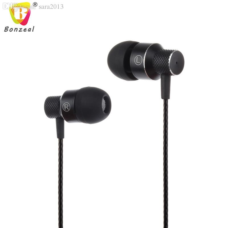 7c5629ab3bf Wholesale Bonzeal Earphone Handsfree 3.5mm Earbuds For Xiaomi Huawei IPhone Lenovo  Mobile Phone Mp3 Player Music Cell Phone Bluetooth Headset Wireless ...