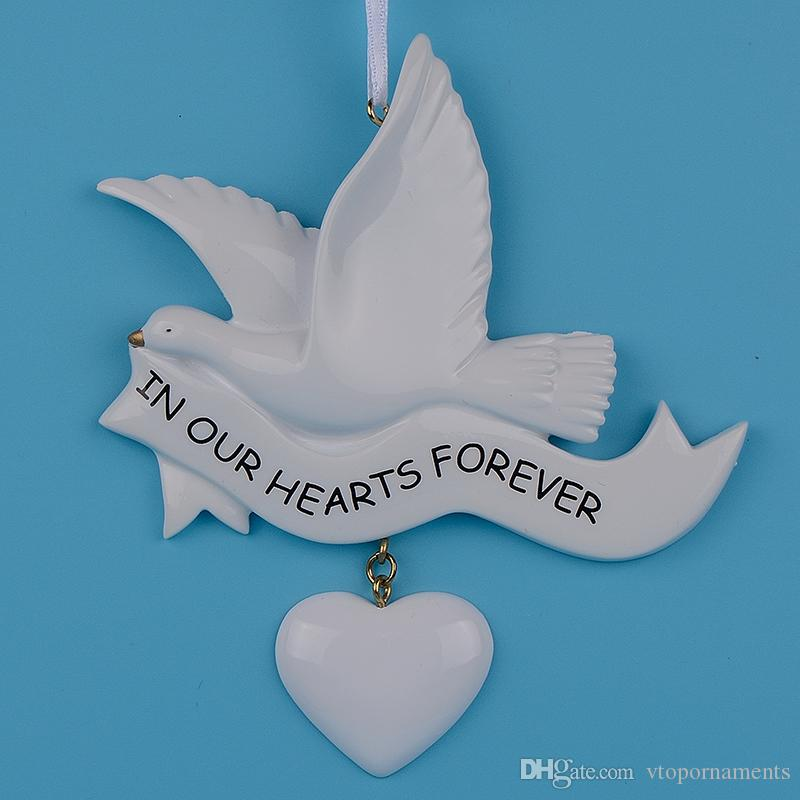 Maxora In Our Hearts Forever Resin Craft Personalized Memorial