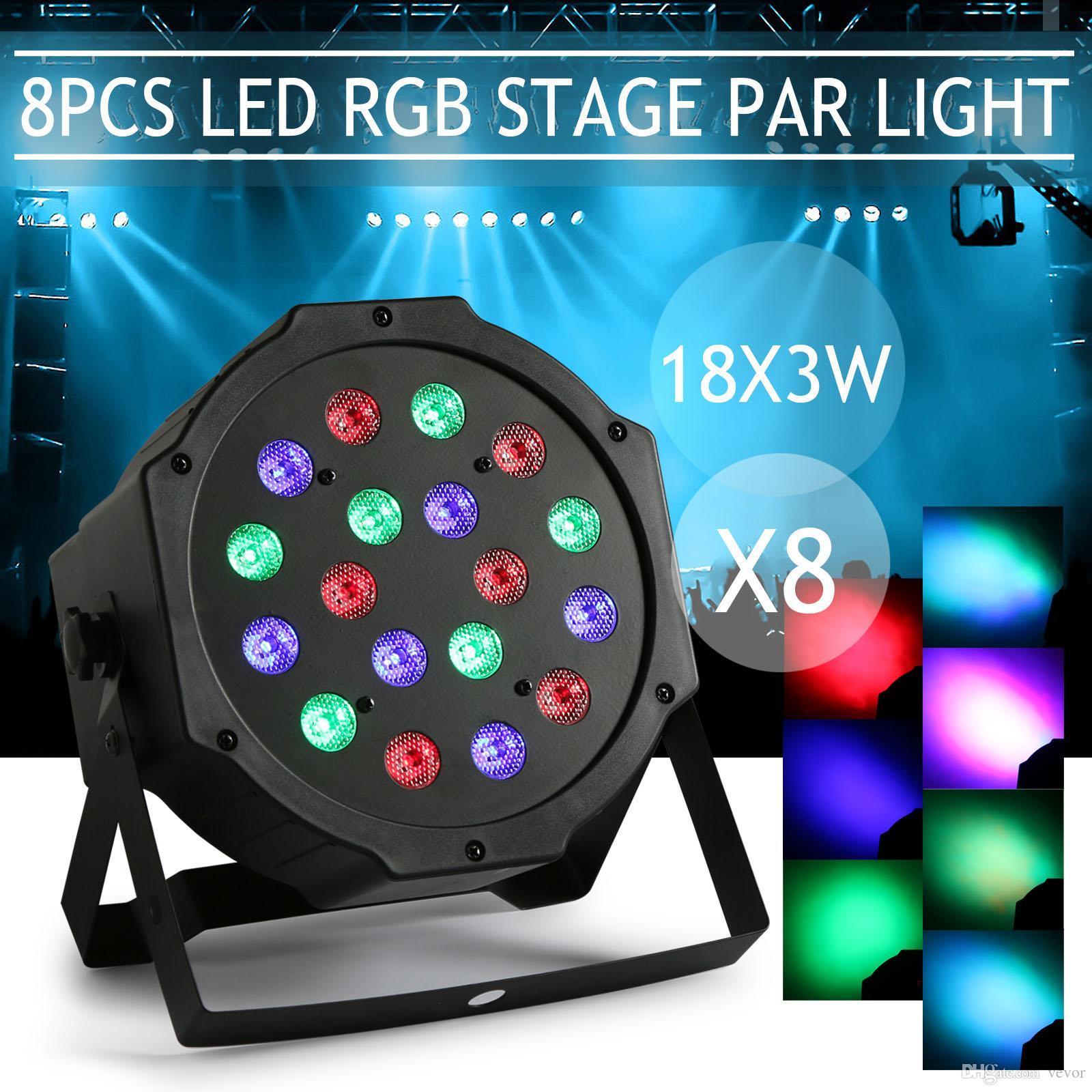 See larger image  sc 1 st  DHgate.com & Stage Lights 18 X 3W LED Stage Lighting DMX-512 Laser Stage Light ... azcodes.com