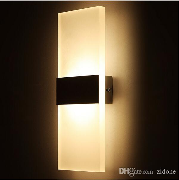modern 16w led wall lights for kitchen restaurant living bedroom living room lamp led bathroom. Black Bedroom Furniture Sets. Home Design Ideas