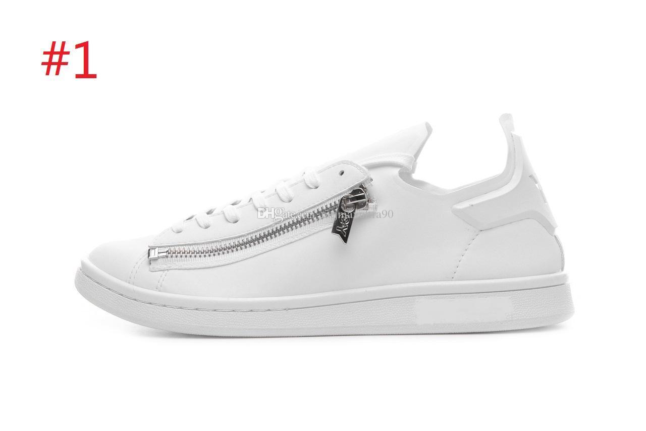 66e0e2fe1 Casual Shoes Leather Flat Shoes Fashion Y3 Mens Shoes 36 -45 Fashion ...