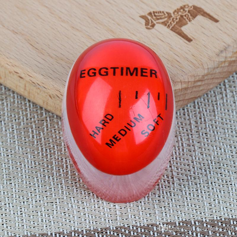 Egg Perfect Color Changing Timer Yummy Soft Hard Boiled Eggs Cooking Kitchen tool Fast shipping DHL