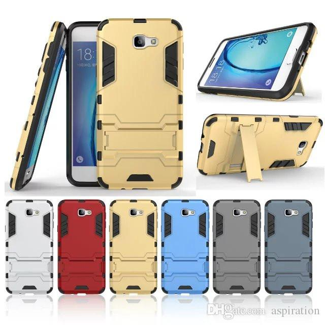 reputable site d4f84 e6fbe For Samsung Galaxy J7 Prime Case On5 On7 2016 Armor Dual Layer Full Body  Heavy Duty Ultimate Drop Protection Rugged Cover with Kickstand