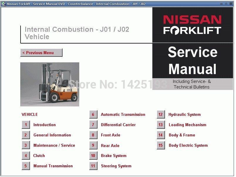 acheter pour manuel nissan service forklift 11 2013 de 100 51 du rh fr dhgate com Nissan Forklift Shop Manual nissan 35 forklift manual free download