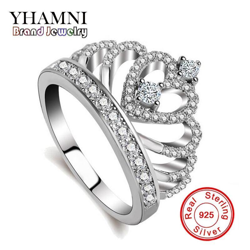 Argent Celtique Lune anneaux argent sterling 925 Plain prix bas Bijoux Taille 6