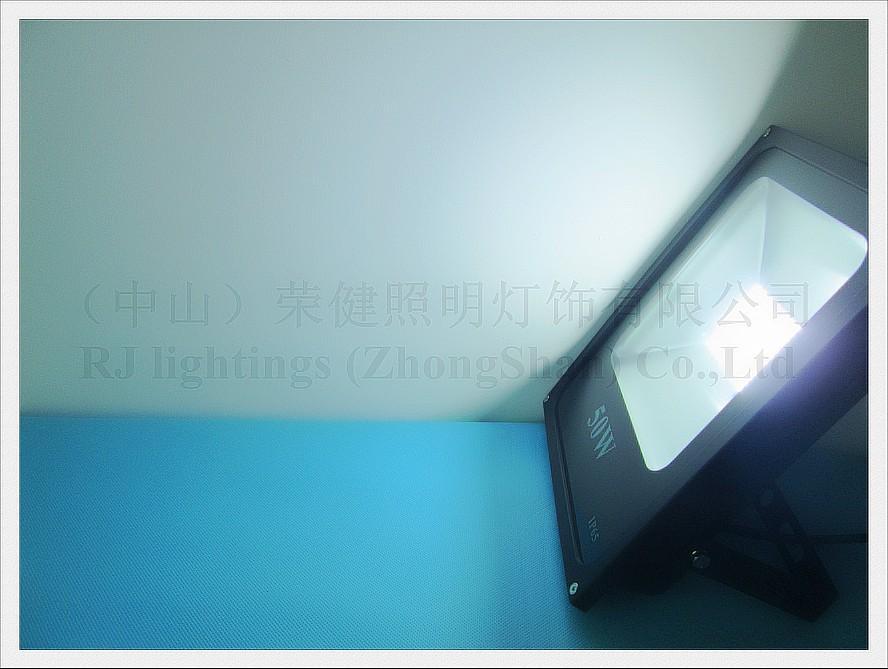 Nowy Design SMD 5730 LED Light Light Floodlight 50W SMD5730 108led 108 * 0.5w AC85V-265V Wodoodporna IP65 CE 2 Rok Gwarancja Darmowa Wysyłka