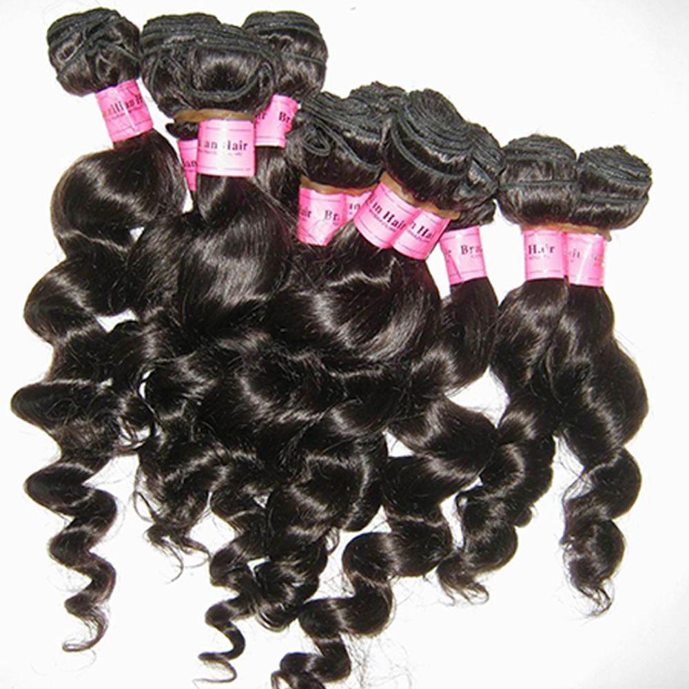 Les petites entreprises en gros prix des reselliing 1 kilo Vierge brésilienne Mink Human Hair Tissages Dyeable