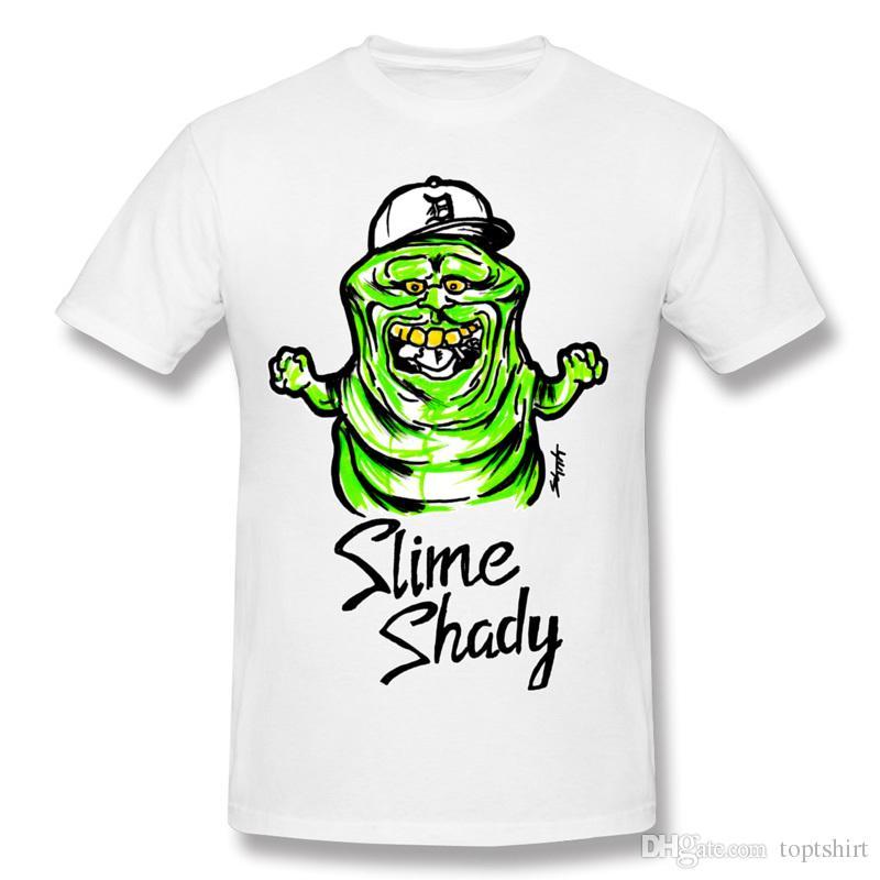 Slime Shady Custom Printed T Shirts Mens Humor Homem Mens Black ...