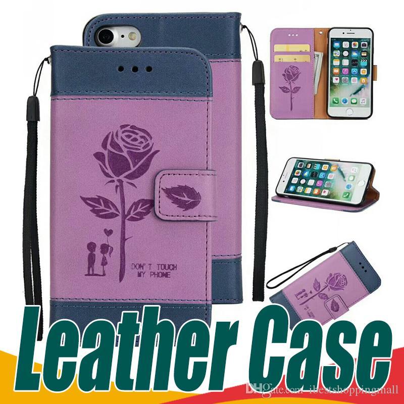 Huawei Handy Hüllen Brieftasche Pu Leder Handy Fällen Multifunktions ...