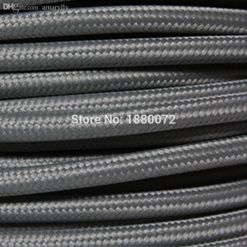 2018 Wholesale Vintage Textile Braided Wire Briaded Electric Cord ...