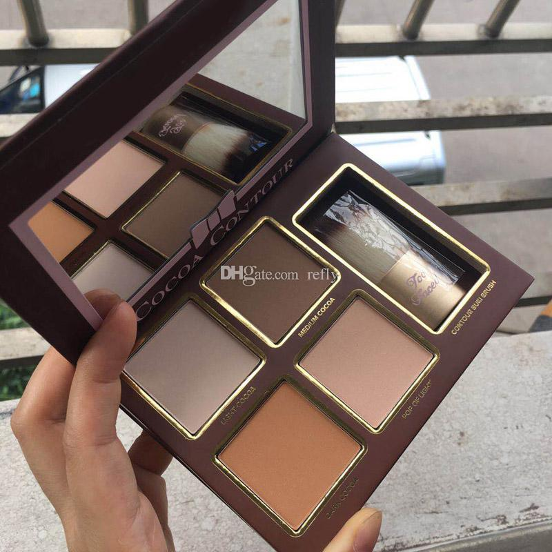 Cocoa Contour Chiseled To Perfection Highlighters Face Contouring And Highlighting Kit Free DHL Shipping