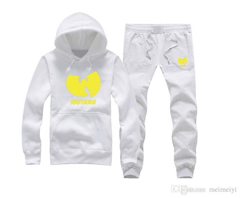S-5xl Novos Homens Treinos de Inverno Masculino Camisola Adolescente Casuais Cardigan Com Capuz J Outono Fino Wu-Tang suor terno