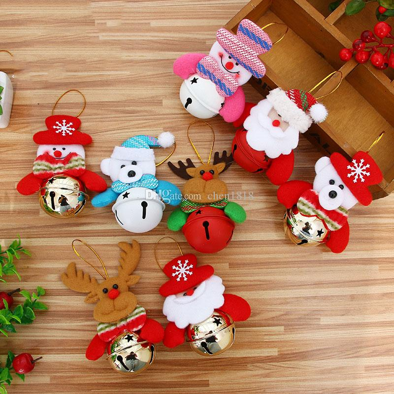 new doll bell ornaments christmas bell old snow deer christmas decorations and christmas tree festival gifts kids toys for xmas christmas toy list from - Christmas Bells Decorations