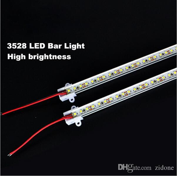 discount super bright 50cm 3528 rigid strip led bar light kitchen