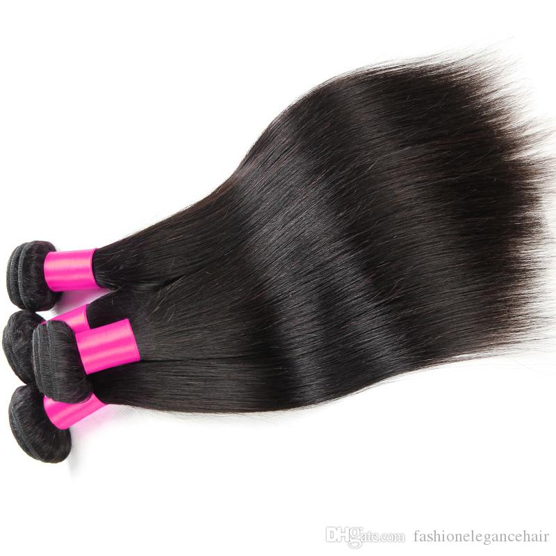 Grau 7A Mink Cabelo Virgem Peruano Produtos para o Cabelo Mistura Comprimento Pervian Cabelo Reto Tece Dyeable Peruano Cabelo Humano Ofertas Bundle Cabelo Mocha