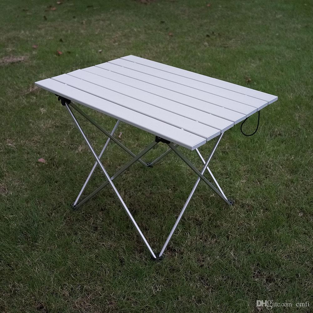 Merveilleux Portable Outdoor Aluminum Alloy Folding Table Barbecue Picnic Picnic  Folding Table Light And Convenient Multi Work Outdoor Table Super Light  Aluminium Alloy ...