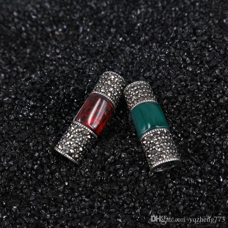 gioielli moda gioielli fai da te 925 sterling gioielli in argento charms risultati dei monili 925 sterling silver connettori collana filo