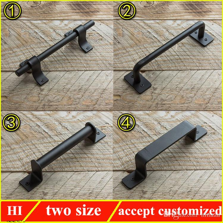 2018 Wholesale Antique Style Iron Art Wrought Iron Door Handle, Customized  Cast Iron Pulls For Gate From Ninaaa, $53.27 | Dhgate.Com - 2018 Wholesale Antique Style Iron Art Wrought Iron Door Handle
