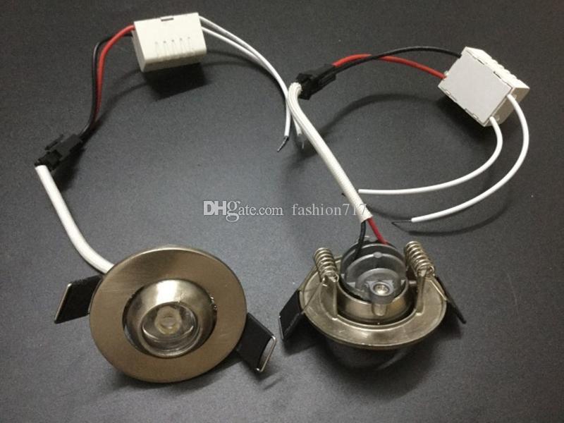 Spotlights all'ingrosso 1W 3W Mini LED Soffitto da soffitto da incasso da incasso da incasso a parete sfondo rotondo luci bovini S145
