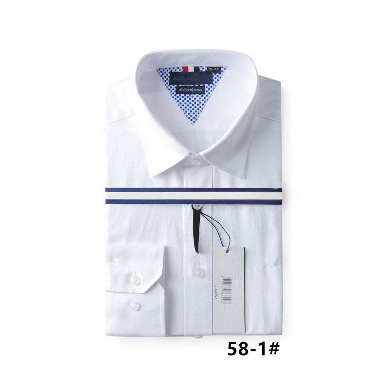 b4e0eec90e0 2018 Wholesale Price 100% Cotton Quality Solid Shirt Men Casual Big Shirt  Shirts Solid Oxford Dress Shirt Camisa Masculina Shirt Men Shirt Online  with ...