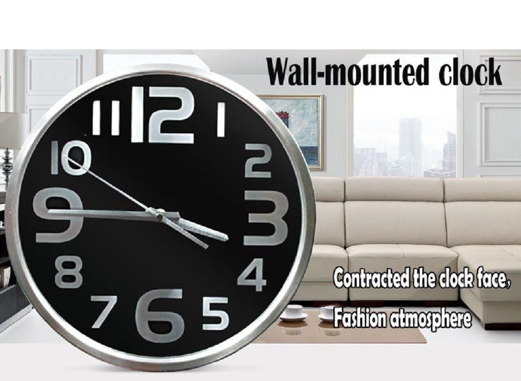Hd 1080p Wifi Spy Hidden Camera Wall Clock Video Audio Recorder