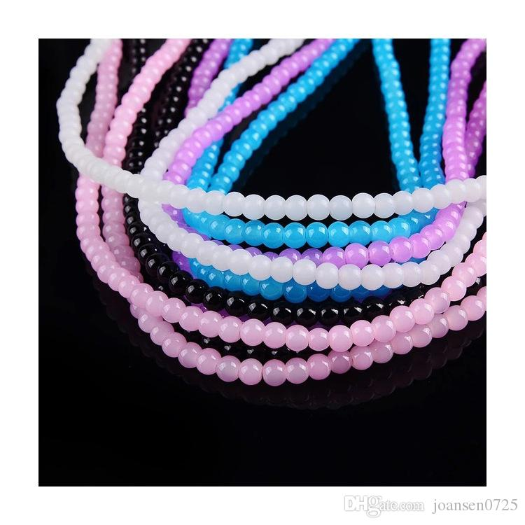 2016 New arrival luxury stylish cell phone shell for luminous lanyard cell phone hanging neck Bling Clear rhinestone lanyards