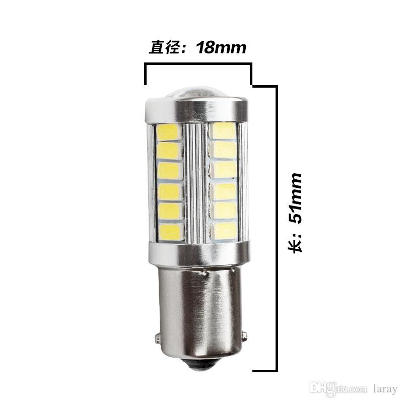 1157 P21 / 5W LED Bay15d S25 자동 LED 테일 브레이크 중지 전구 폭스 바겐 Honda 협정 마즈다 6에 대 한 12V LED 빛