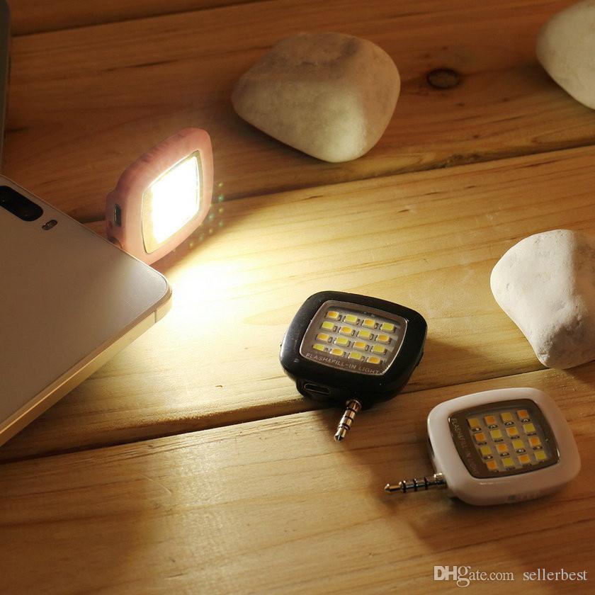 iblazr RK05 휴대 전화 16 LED 플래시 라이트 미니 Selfie 동기화 손전등 아이폰 6 5s 갤럭시 S5 참고 4 여러 사진 필 라이트