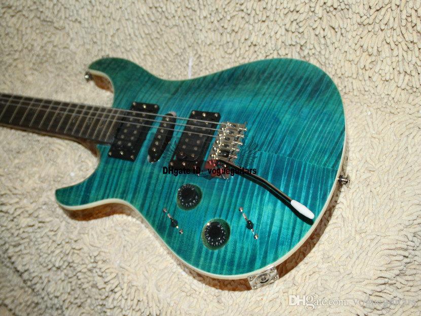 Tienda de encargo Bule Left Hand Guitar Electric de alta calidad envío gratis