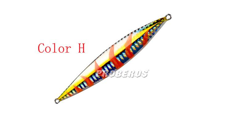 """2018 Proberos Brand Lead Fish Fishing Lures 65g-2.3oz Fishing Tackle 4.5""""-11.5cm Cast Sequins Lures Fishing Bait"""