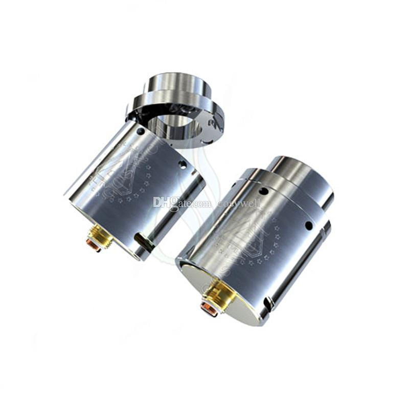 iJoy Limitless 24 RDA LMC 24RDA Atomizer 2-post gold-plated Build Deck Adjustable Pin with Insulator Bottom & Top Airflow DHL